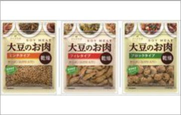 Daizu Labo Dried Soy Meat Series