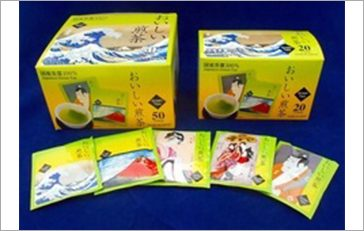 TEA BAG of UKIYOE green tea