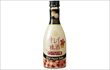 Kirei Peach Sake 300mL