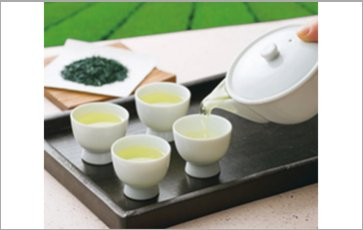 Supply with raw materials-Gyokuro tea