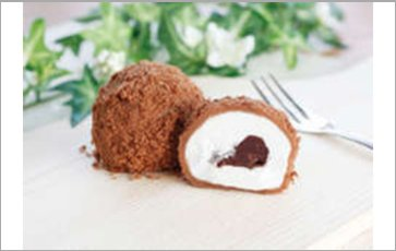 Chocolate Cake Daifuku