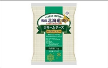 SNOW BRAND Hokkaido 100 Cream Cheese Royal Snow