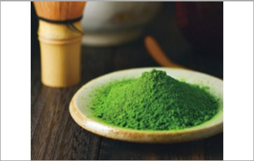 Supply with raw materials:Organic Matcha